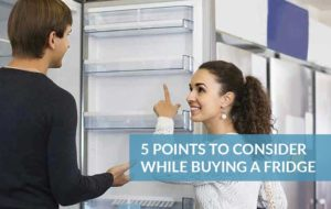 tips for buying refrigerator